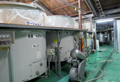 温度を管理し、発酵をコントロールするサーマルタンク